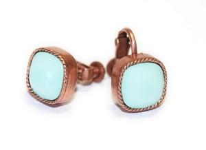 〈エルコブレ〉銅色の耳飾り mint ミント