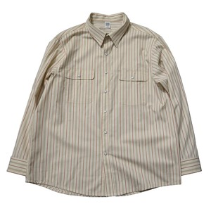 COMFORTABLE REASON / YARD MAN L/S SHIRTS -IVORY-