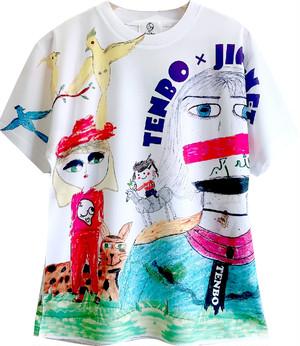 JIM-NET × TENBO 「幸せの方舟」ドライTシャツ