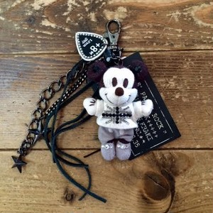 Mickey Mouse AMIGURUMI Bag Charm Black