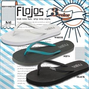 102KAI フロホース ビーチサンダル レディース 人気ブランド オシャレ 疲れない 履きやすい 歩きやすい 選べる 3カラー 黒 ターコイズ FLOJOS