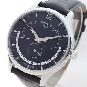 ティソ TISSOT 腕時計 メンズ T063.637.16.057.00 T-クラシック トラディション クォーツ ブラック