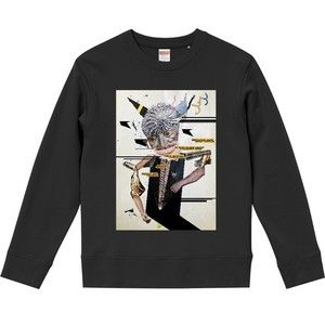 """dib""【無題のダイス】GRAPHIC SWEAT SHIRT"
