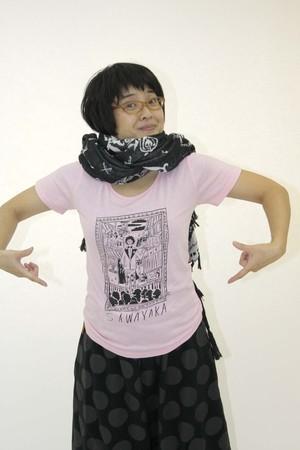 HALKAデザイン さわやかTシャツ2・レディース(PK)