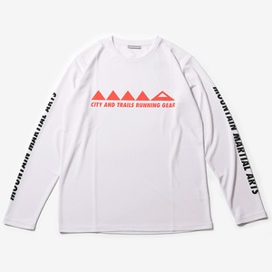 MMA MMA mark Long Sleeve Tee (White)