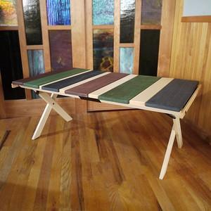 [限定] MakuKaku Mid-High Table -LW Mix 3 -(マクカク テーブル  ミックスカラー3)