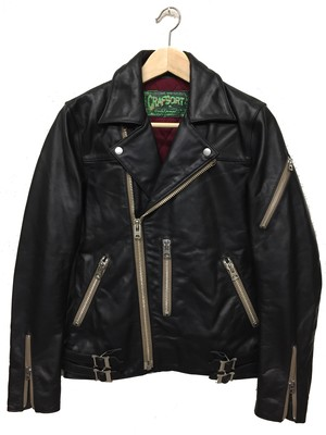 LONDON CLASSICS RIDERS JACKET(Black)