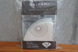 ORIGAMI コーヒーペーパーフィルターCup2
