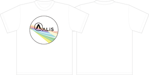 ALIS Tシャツ(Design by hikage)