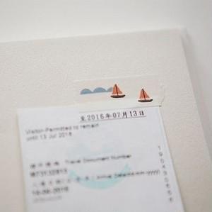 マスキングテープ / Boat