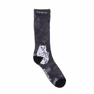 RIPNDIP - Lord Nermal Socks (Black Lightning)