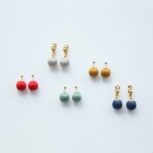 ciito (しいと) ringo pierce/earring (ピアス・イヤリング) 5色