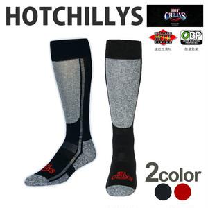 HOT CHILLYS (ホットチリーズ) プレミア ソックス 中厚 メンズ HC2213 冬 スキー スノボ アウトドア 雪山 ノルディック 靴下
