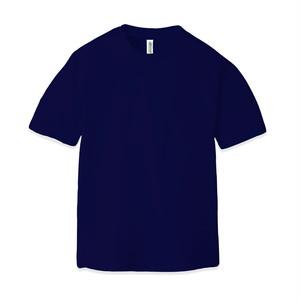 ドライ クルーネックTシャツ(半袖)ネイビー