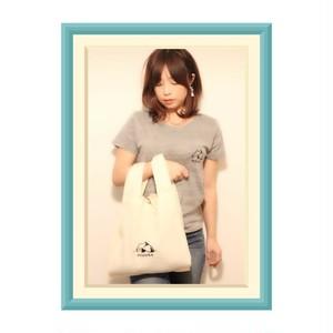 新色!!【限定特価】レディースMOGURA登山Tシャツのグレー