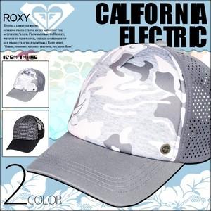ERJHA03682 ロキシー メッシュキャップ レディース 帽子 旅行 プレゼント 夏 海 山 アウトドア 人気ブランド 選べる3色 黒系 グレー系 CALIFORNIA ELECTRIC ROXY