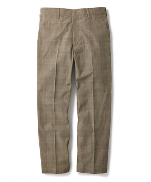 FTC / WORK PANT -PLAID-