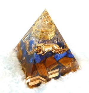 直感タイガー ピラミッド型Sオルゴナイト
