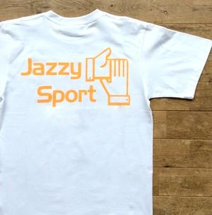 【残りわずか/夏限定】JSロゴ Tシャツ/蛍光オレンジ