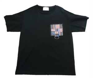 【CODE】pocket tee(black)