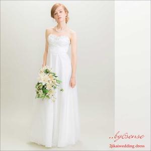 シャンデリア・チュールロングドレス~結婚式二次会・1,5次会・前撮り・ウェディングドレス