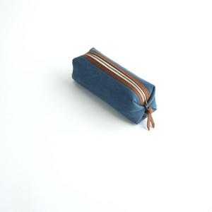 CANVAS PEN CASE S / RAIN BLUE