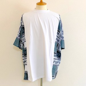 Side Switch Short Sleeve T-shirts White