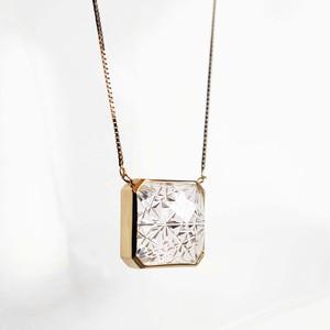 Quartz KIRIKO Necklace (Square)