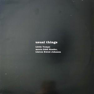 Little Tempo meets Eddi Reader, Linton Kwesi Johnson / Usual Things Dubwise[中古LP]