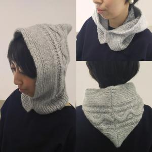 フード stitch  編み物キット