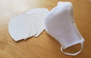 マスクwith消臭和の紙【ヨウ素】和紙マスク