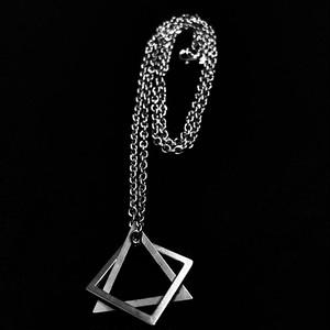 【アクセサリー】ins超人気個性派ストリート系シンプルチタン鋼ネックレス41204596