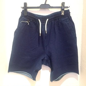 Cut Denim Shorts One-Wash Indigo