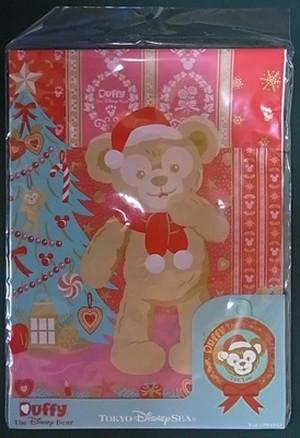 ディズニー ダッフィー クリスマス・ラッピングセット Lサイズ