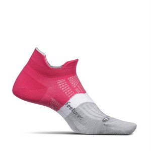 Feetures|ELITE LIGHT CUSHION NO SHOW TAB - 21 Fierce Magenta