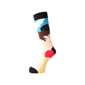 WHIMSY - AFTERNOON DELIGHT SOCKS (Black)