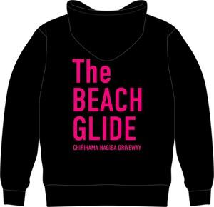 The BEACH GLIDE ジップパーカー (ブラック:ピンク)