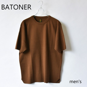 BATONER/バトナー・32G Smooth T-Shirt(men's)