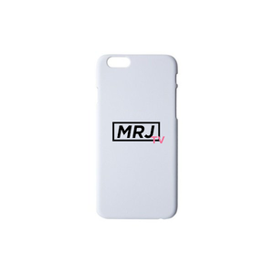 MRJ TV  iPhoneケース 7、8、X対応 (ホワイト)