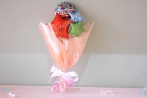 卒業式、卒園式、修了式等に バルーンバンチC(花束タイプ) 送料込み 引き取りの場合1,000円