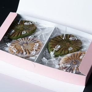 滝の焼餅  12個入            (白6個 ,緑6個)