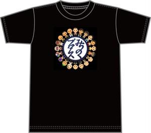 みちのくプロレス&Yasuコラボ ロゴマークイラストTシャツ サイズS,L