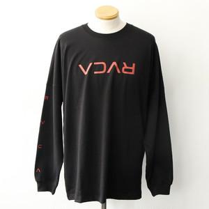 【RVCA】FLIP RVCA LS TEE (BLACK)