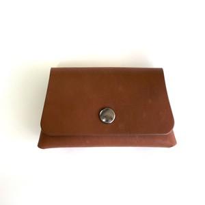 カードケース(茶) Fuji Card case brown