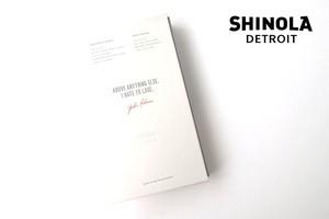 シャイノラ|shinola|ハードカバージャーナル×ペーパージャーナル(ベースボールスコアシート)セット|ジャッキー・ロビンソンモデル