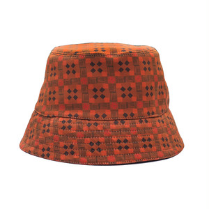 CROSSWALK BUCKET HAT / BROWN