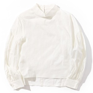MY / VOLUME SLEEVE BLOUSE [WHITE]