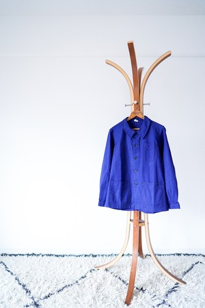 """【1950s, Deadstock】""""Solida"""" French Work JKT, Cotton Twill  v585"""