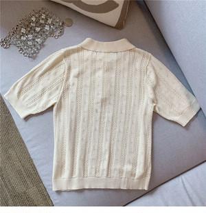 フレンチポロシャツ