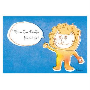 ポストカード『私から手を離して!』~kikumi~